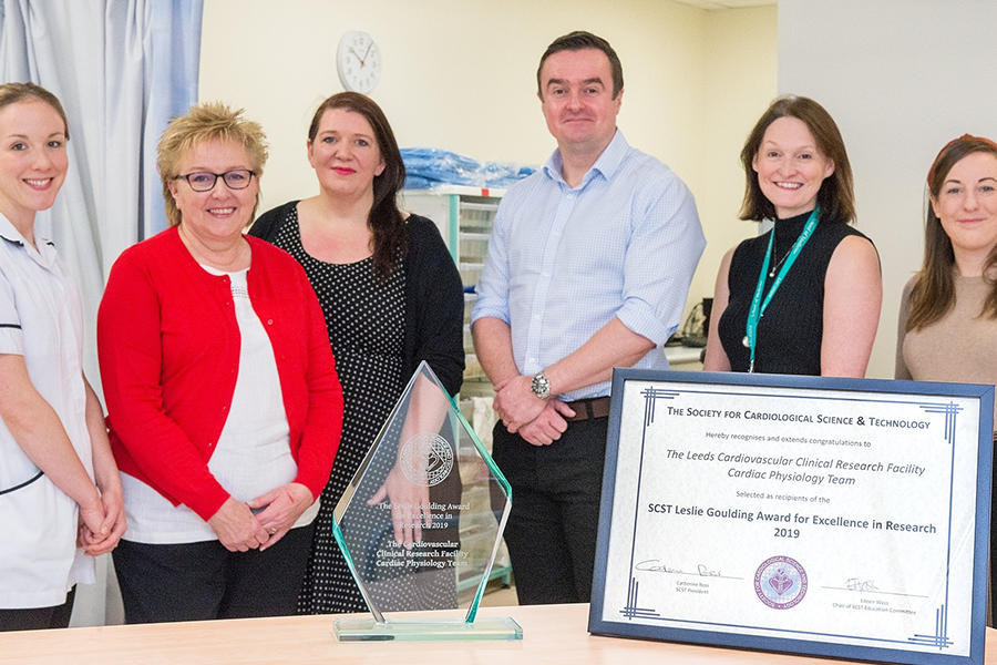 Cardiac Physiologist Team Scoop National Award